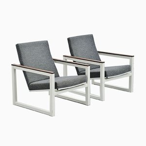 Pilastro Lounge Chairs by Friso Kramer & Tjerk Reijenga for Ahrend De Cirkel, 1960s, Set of 2