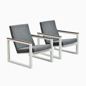 Pilastro Sessel von Friso Kramer & Tjerk Reijenga für Ahrend De Cirkel, 1960er, 2er Set