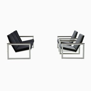 Pilastro Lounge Sofa by Friso Kramer & Tjerk Reijenga for Ahrend De Cirkel, 1960s