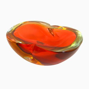 Murano Glass Dish by Flavio Poli, 1960s