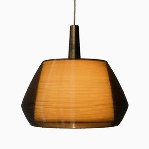 Mid-Century Rotaflex Pendant Lamp by Yngvar Sandström for Bergboms, 1950s
