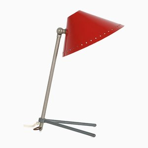 Red Model Pinocchio Lamp from Hala Zeist, 1950s