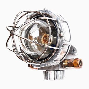 Industrial American Sconce, 1960s