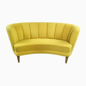 Vintage Curved Banana Sofa, 1960s