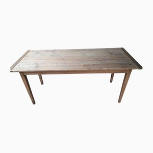 Vintage Rustic Pinewood Farm Table