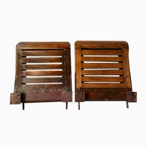 Vintage Folding Side Chairs from Ratp, 1910s, Set of 2
