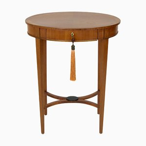 19th Century Biedermeier Oval Side Table