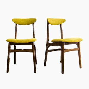 Beech Dining Chairs by Rajmund Teofil Hałas, 1960s, Set of 6