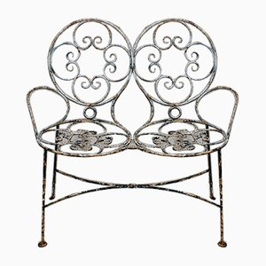 Victorian Wirework Loveseat