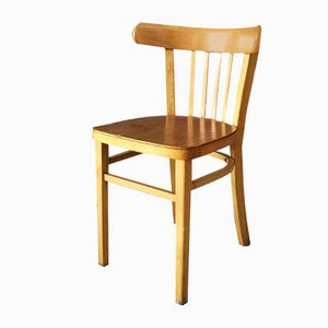 Beech Bentwood Dining Chairs from Ligna, 1960s, Set of 8