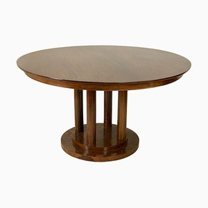 Vintage Mahagoni Esstisch von Frank Lloyd Wright