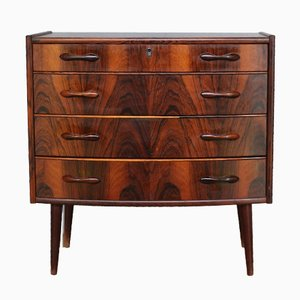 Small Mid-Century Norwegian Rosewood Chest of Drawers from Bröde Blindheim, 1960s