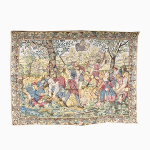 Mid-Century French Tapestry Wall Hanging from La Filandière