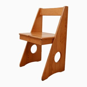 Mid-Century Pinewood Desk Chair by Gilbert Marklund, 1960s
