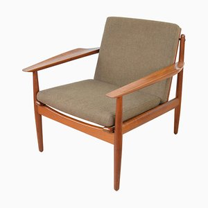 Mid-Century Teak Chair by Arne Vodder for Glostrup, 1960s