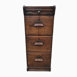 Antique Filing Cabinet from Maurin Emile, 1900s
