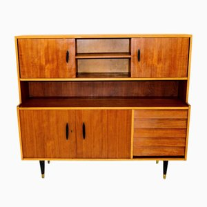 Swedish Oak and Teak Dresser, 1960s