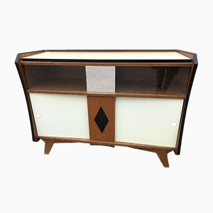 Sideboard and Shelf, 1940s, Set of 2