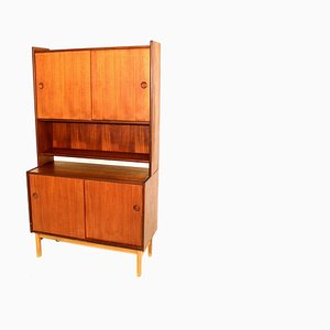 Swedish Teak Wall Unit, 1960s