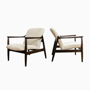 Vintage Armchairs by Edmund Homa for gfm, 1960s, Set of 2