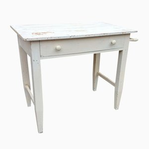 French Shabby Chic Farm Table, 1930s