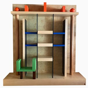 Naomi Bookcase by Ettore Sottsass for Meccani Arredamenti, 1993