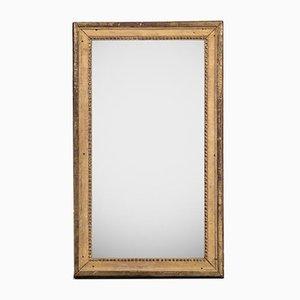 Small Antique Rectangular Mirror