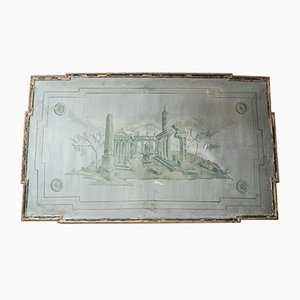 Antique Italian Mural, 1900s