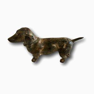 Vintage Dog Sculpture from Pierre Chenet
