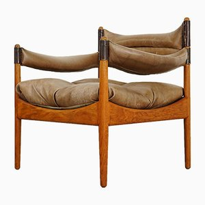 Danish Model Modus Lounge Chair by Kristian Vedel for Søren Willadsen Møbelfabrik, 1960s