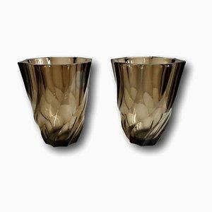 Vintage Vases from Lever France, 1950s, Set of 2