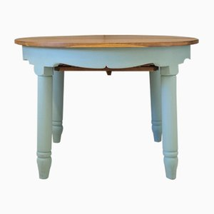 Mid-Century Swedish Ash Dining Table, 1950s