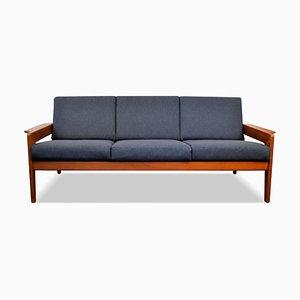 Vintage Teak 3-Seat Sofa by Arne Wahl Iversen for Komfort