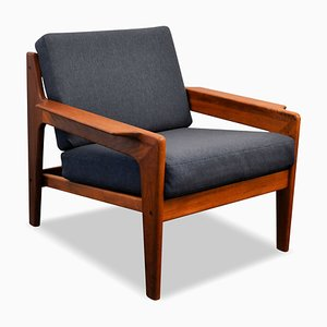 Vintage Teak Lounge Chair by Arne Wahl Iversen for Komfort