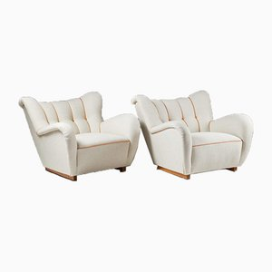 Armchairs, Sweden, 1940s, Set of 2