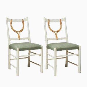 Modell 2238 Stühle von Josef Frank für Svenskt Tenn, Schweden, 1940er, 2er Set
