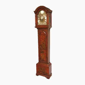 18th Century Chinoiserie Longcase Clock