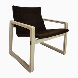 Vintage Wool Armchair by by Kho Liang le & Just Meijer for Kembo, 1970s
