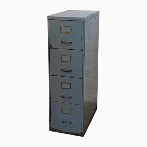 Vintage Industrial Filing Cabinet from Roneo, 1950s