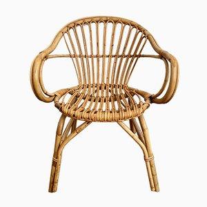 Basket Wicker Chair, 1960s