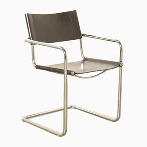 Black MG5 Armchair by Marcel Breuer for Matteo Grassi, 1920s