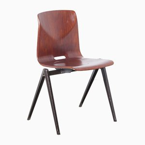S22 Thur-Op-Seat School Chair from Galvanitas, 1960s