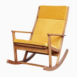 Teak Rocking Chair by Poul Volther for Frem Røjle, 1960s