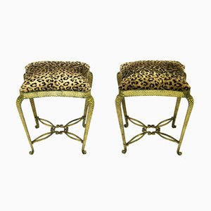 Stools by Pier Luigi Colli, 1950s, Set of 2
