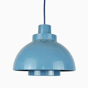 Blue Minisol Pendant Lamp by K Kewo for Nordisk Solar, 1960s