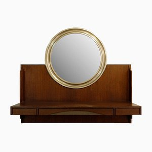 Narciso Wall Console Mirror by Sergio Mazza, 1960s