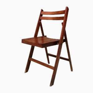 Vintage Italian Folding Chair, 1960s