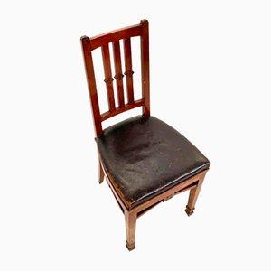 Antike Holz Esszimmerstühle von Eugenio Quarti, 1910er, 6er Set