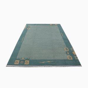 Nepali Modern Purple Wool Carpet, 2001