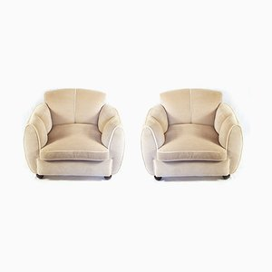 Armchairs by Guglielmo Ulrich, 1930s, Set of 2